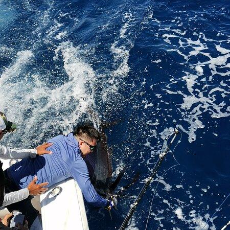 Herradura, Costa Rica: Pesca deportiva en el Sueltalo 2