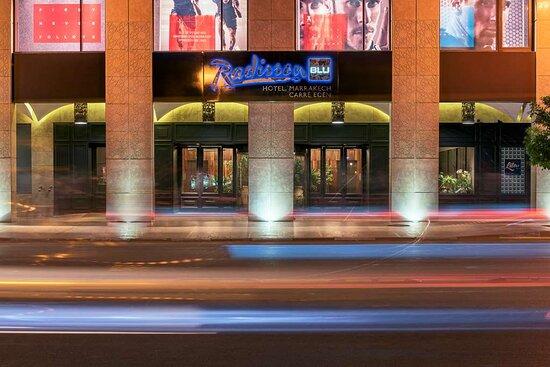 Radisson Blu Hotel, Marrakech Carre Eden, hoteles en Marrakech