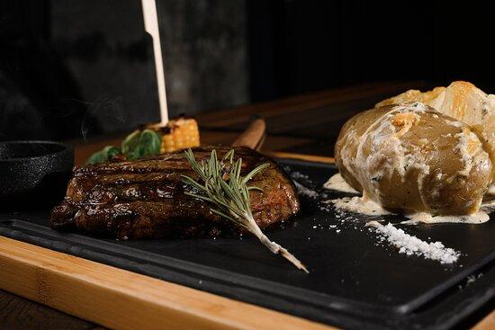 Cutout steak