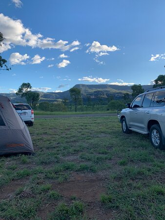 Amazing location, pick of spots at the Gorge