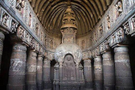 Índia: Ajanta Caves, Maharashtra.