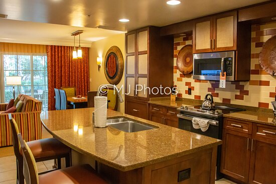 Kitchen in two-bedroom townhome