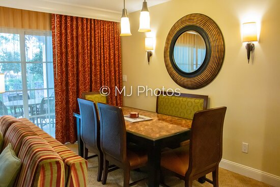 Dining area in two-bedroom townhome