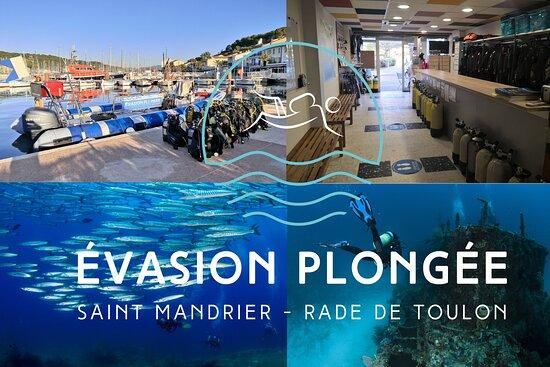 Evasion Plongée Saint Mandrier