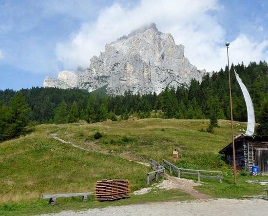 La Valle Agordina, Taliansko: La Moiazza vista dal rifugio