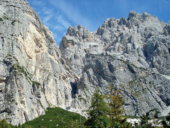 La Valle Agordina, Taliansko: Vista su Moiazza e Masenade