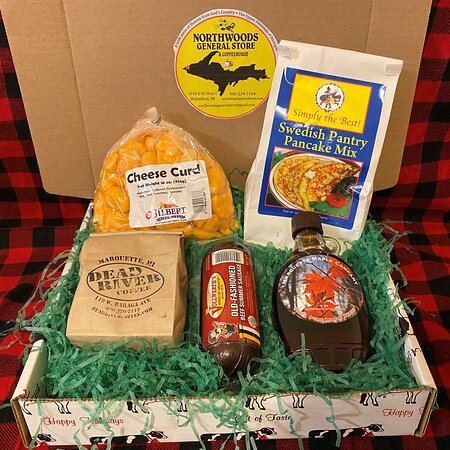 Wakefield, MI: Yooper Boxes.  Gift boxes filled with yummy delights from the Upper Peninsula of Michigan.  Bring home a little piece of Heaven from God's Country.