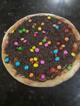 Deliciosas pizzas doces...