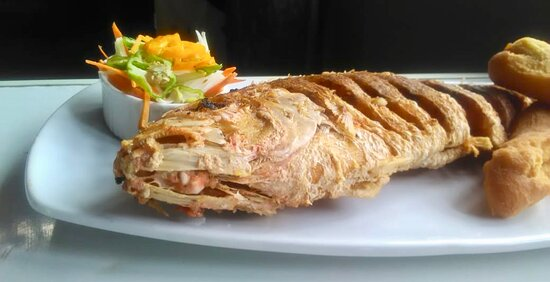 Traditional Jamaican fried fish