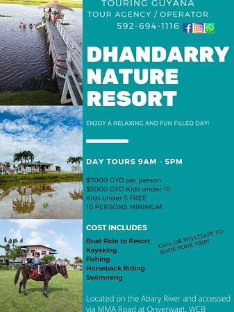 Mahaica-Berbice, Guyana: Book a tour to Dhandarry Nature Resort