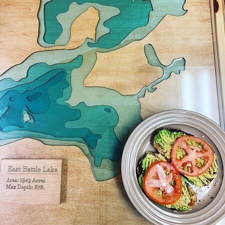 Battle Lake, MN: Breakfast