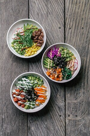 Interesting things will always lead you to discover more, like our poke bowls. After tasting one bowl, you'll instantly crave more to try.