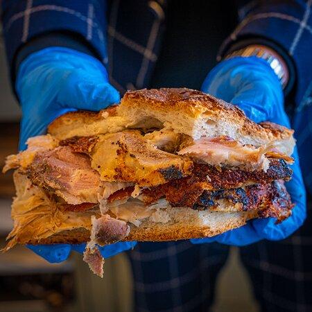 Il nostro panino con porchetta di Ariccia