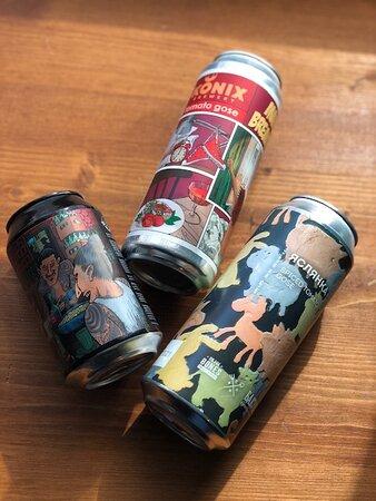 Каждую неделю новинки бутылочного пива в Craft&Draft