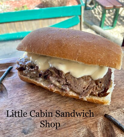 Cortlandt Manor, NY: BRISKET PHILLY CHEESE :caramelized  onions with our homemade cheese sauce.
