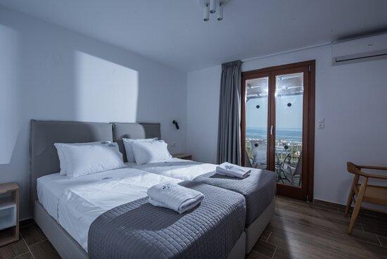 Superior 1-Bedroom Apartment bedroom