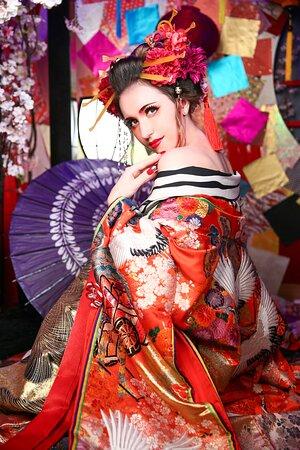 Kyoto, Japan: Photo Studio Geisha Photo