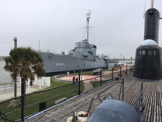 The USS Stewart