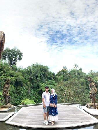 Honeymoon at aksari ubud
