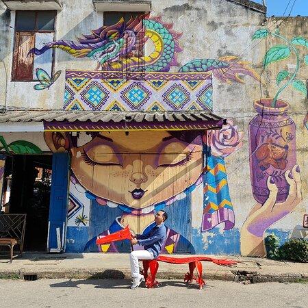 Sawankhalok Street Art