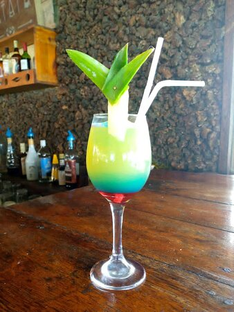 The place where Best food and cocktails found in zanzibar-nungwi