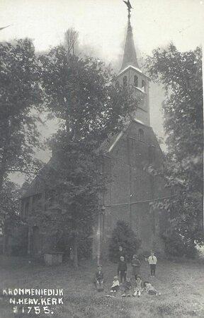 Ansichtkaart, omstreeks 1915