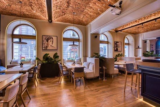 wnętrze Restauracji Stek i Wino
