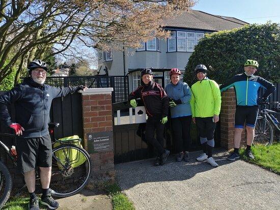 Liverpool City Center Small-Group Bike Tour: John Lennon's house