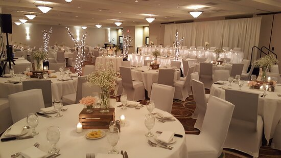 Beautiful space for wedding receptions and ballroom functions.
