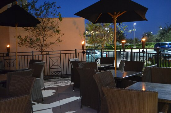 Have a relaxingevening on the terrace ofour Guest Patio.