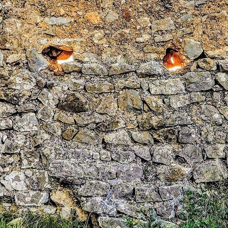 Cabanes, España: Castillo, monster wall