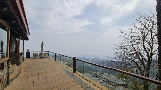 Viewing Deck at the villa