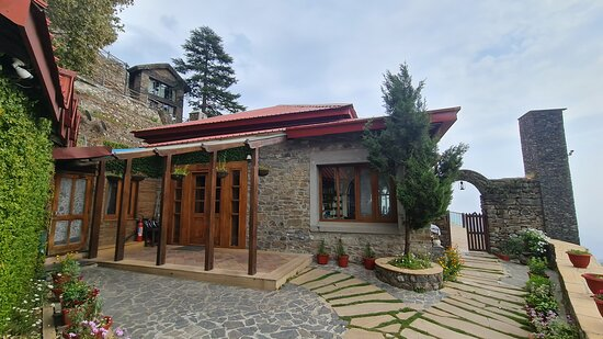 Entrance of the main House Villa