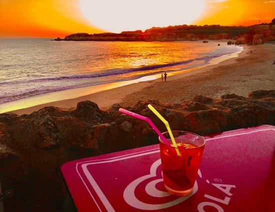 البرتغال: Sunset in Algarve, Santa Maria