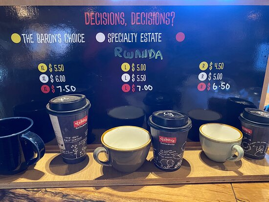 For those who love their coffee, this is a must place. With free three tasting and very informative staff, you can't go wrong with the selection. The ice mocha and ice coffee is awesome.