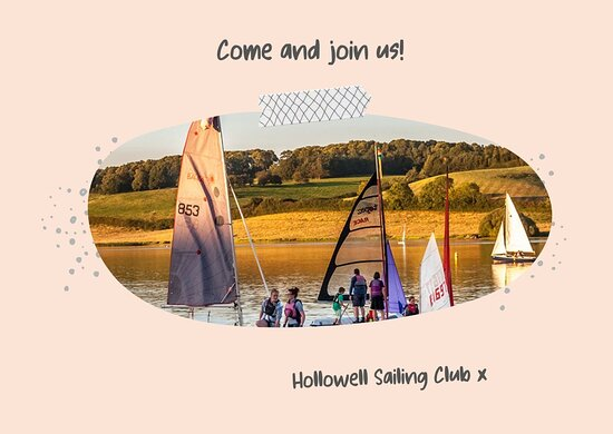 Northamptonshire, UK: Saturday 3 July 2021 - Open Day at Hollowell Sailing Club. If you're looking for a fun activity that you can pursue alone, or with family and friends, then dinghy sailing is definitely for you! Whether you are aged 8 to 88, our 'Discover Sailing' Open day and taster sessions are a great opportunity for you and your family to get out on the water and find out what this wonderful sport is all about. Other water sports on offer at Hollowell Reservoir.