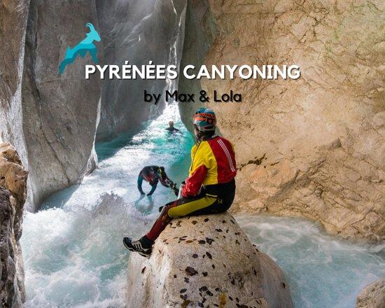 Canyoning dans les Pyrénées par Max & Lola