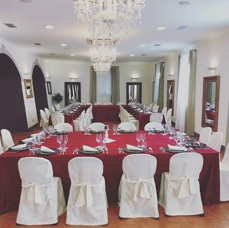 San Baronto, Italie : Cena Aziendale nella Sala degli Specchi