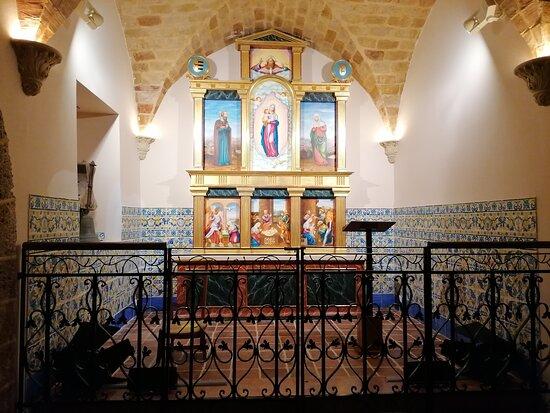 La capilla.