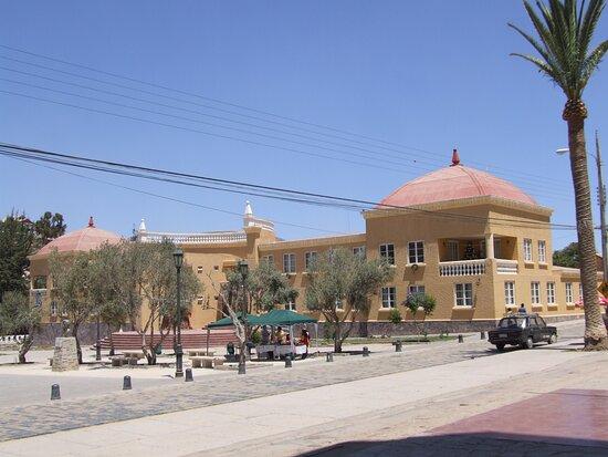 Edificio de la Municipalidad de Andacollo, en la Cuarta Región.