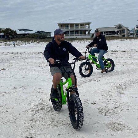 Electric Bike beach rides