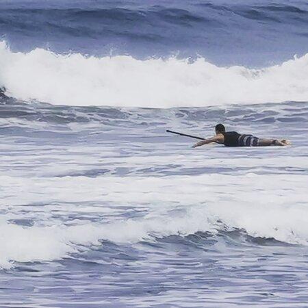 La Saladita, Mexico: Surf's up!!