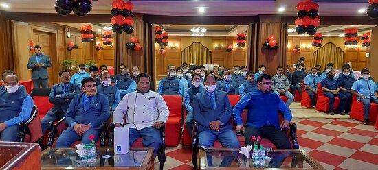 BUDGET ACHIEVEMENT SUCCESS PARTY AT EMPIRES HOTEL PARADEEP