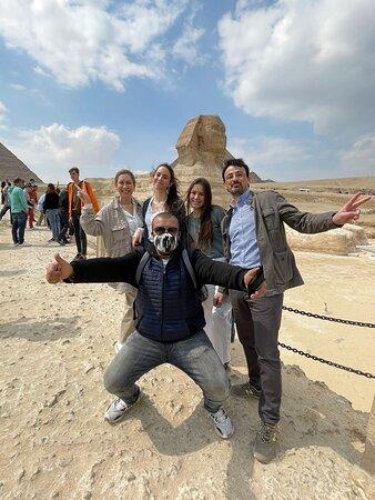 La Esfinge de Giza