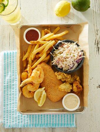 Gulf Seafood Trio
