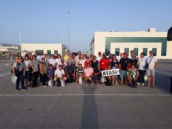 Manama, Bahrain: Our cruise ship guests ( 80 Pax ) from Brazil.