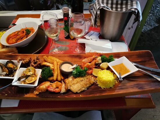 The seafood platter for one.