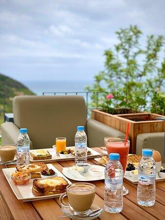 Tangier, Morocco: Miramonte resort Cafe restaurant la Cabana