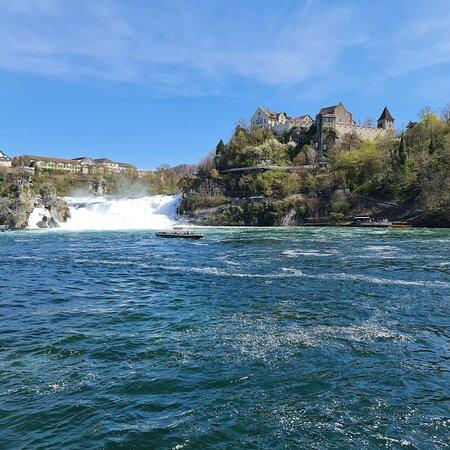 Rheinfall 🇨🇭 #sontagsmodus #spaziergang #wasserfall Schöner Ort kann man einen schönen langen Spaziergang machen 💖