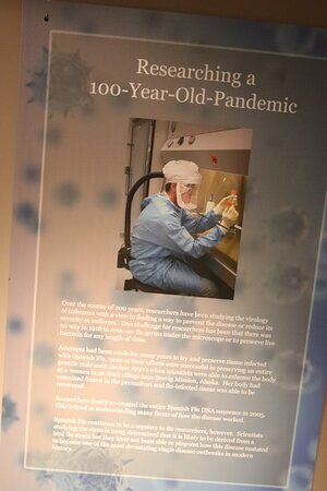 Researching 100-Year-old-Pandemic